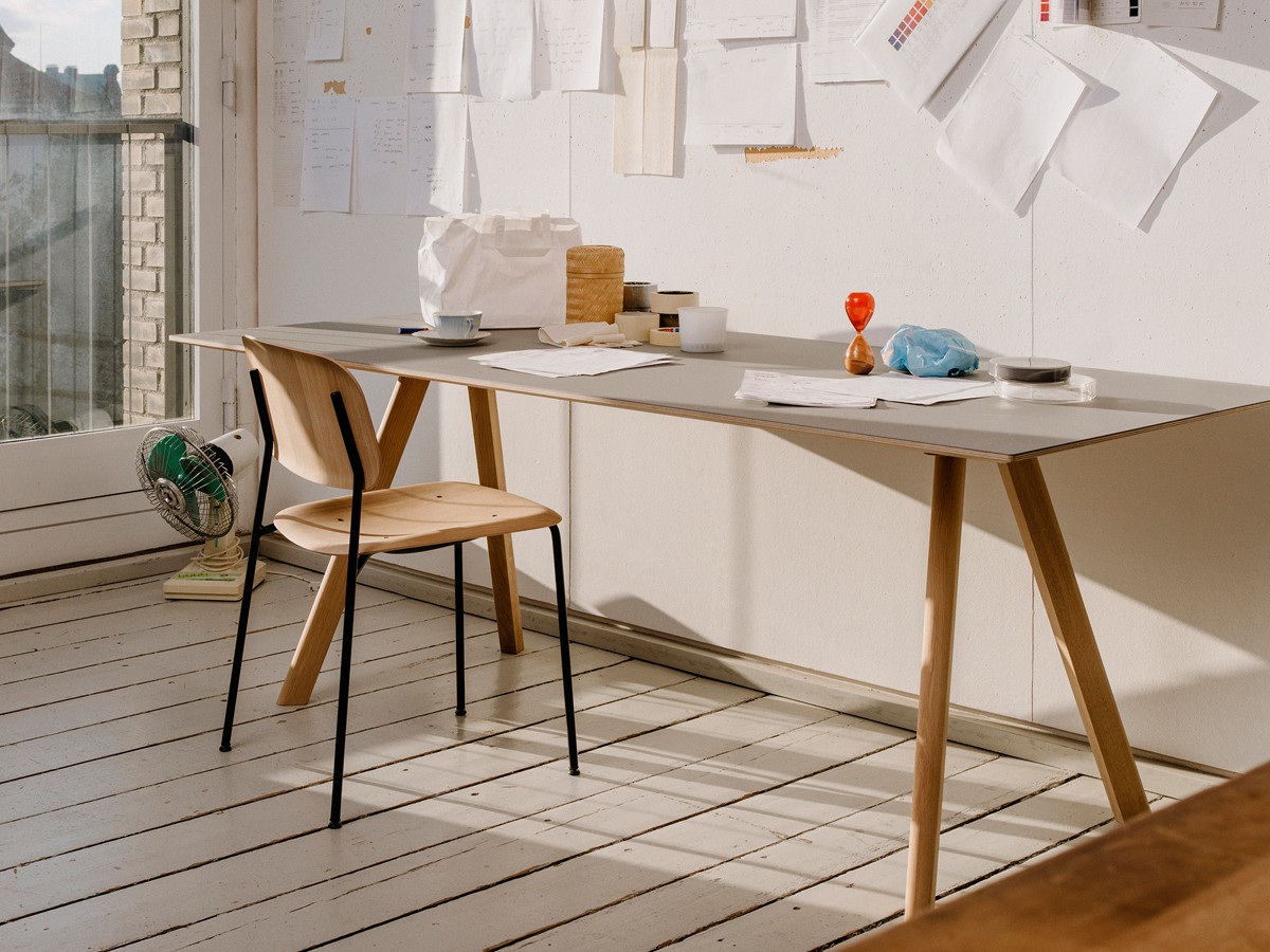 HAY Copenhague Table Soft Edge Chair Mallorca