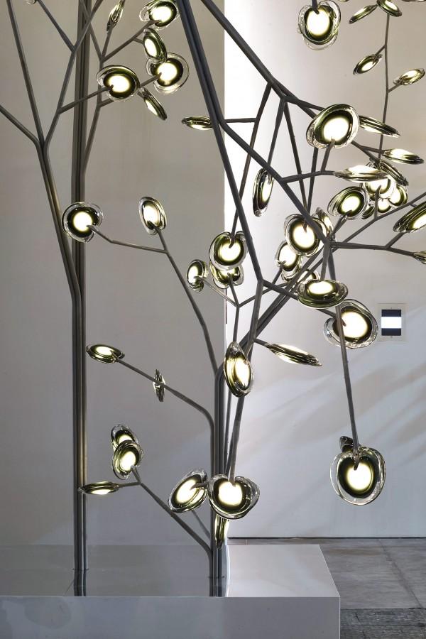 Bocci lamp tree Mallorca