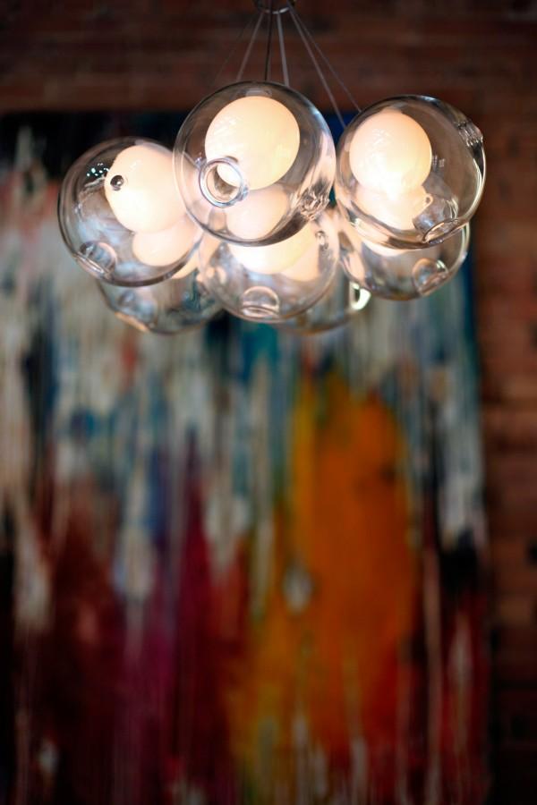 White lamps Bocci Mallorca