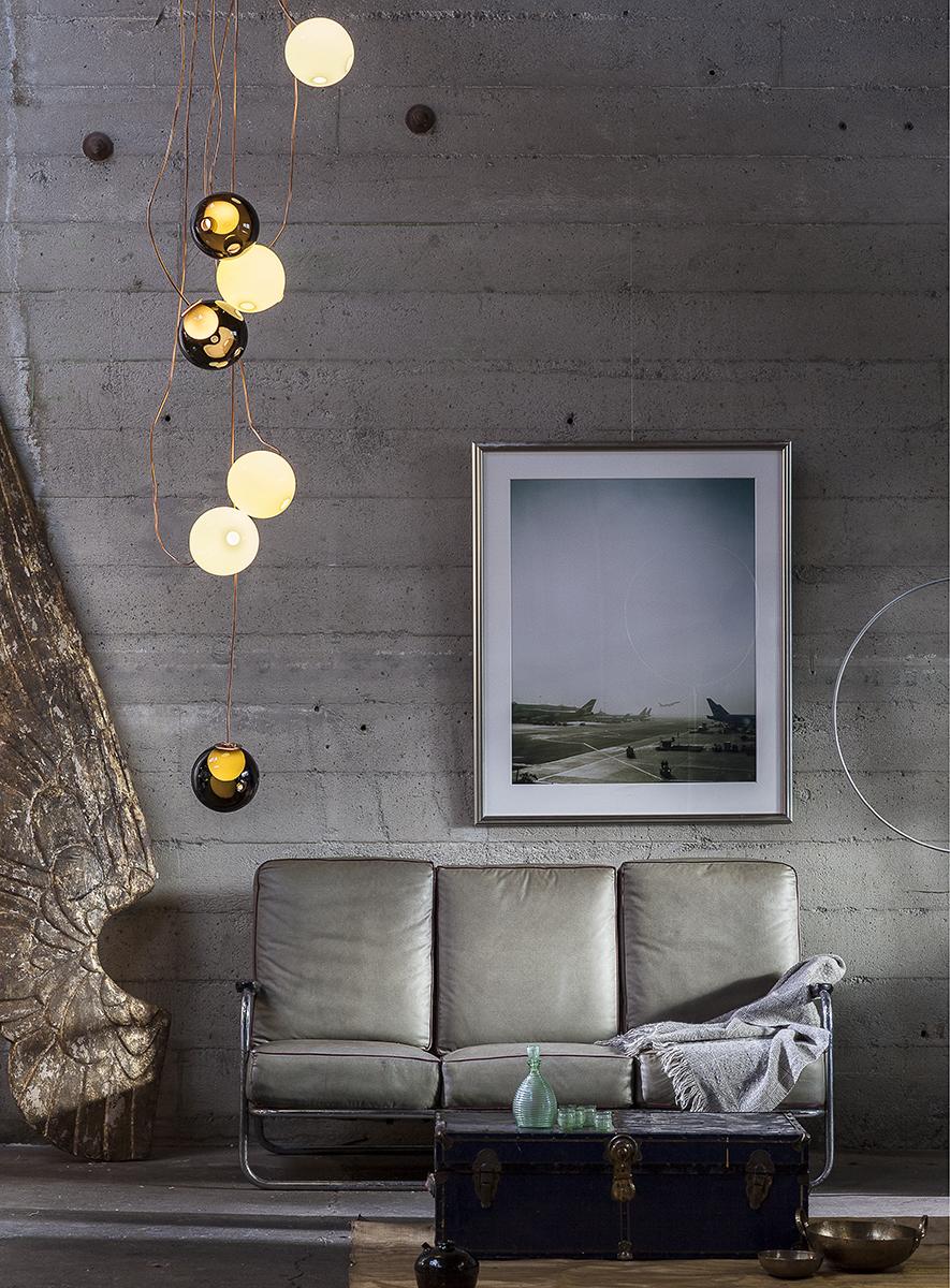 Copper lamp Bocci