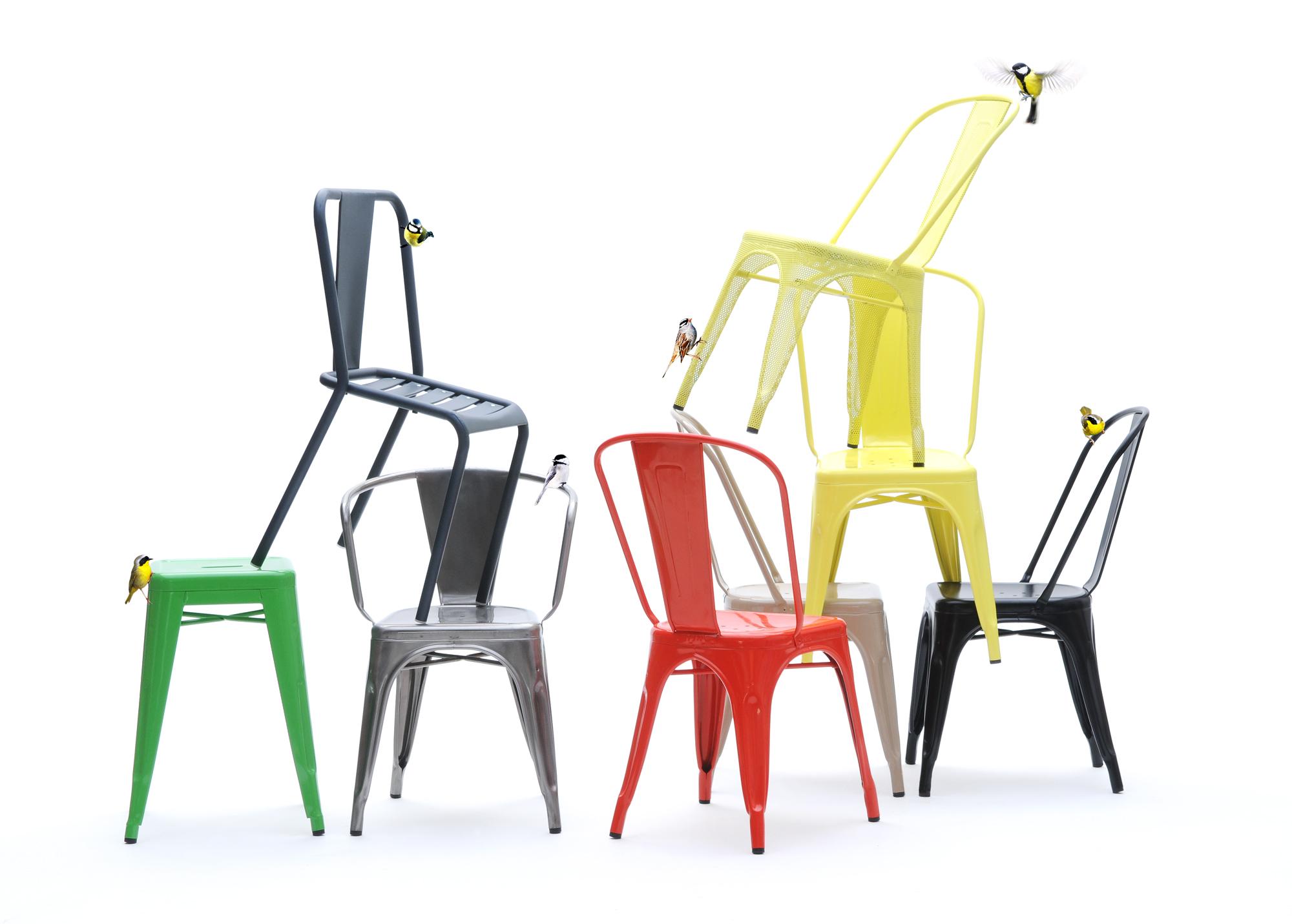 connjunto sillas tolix muebles mallorca