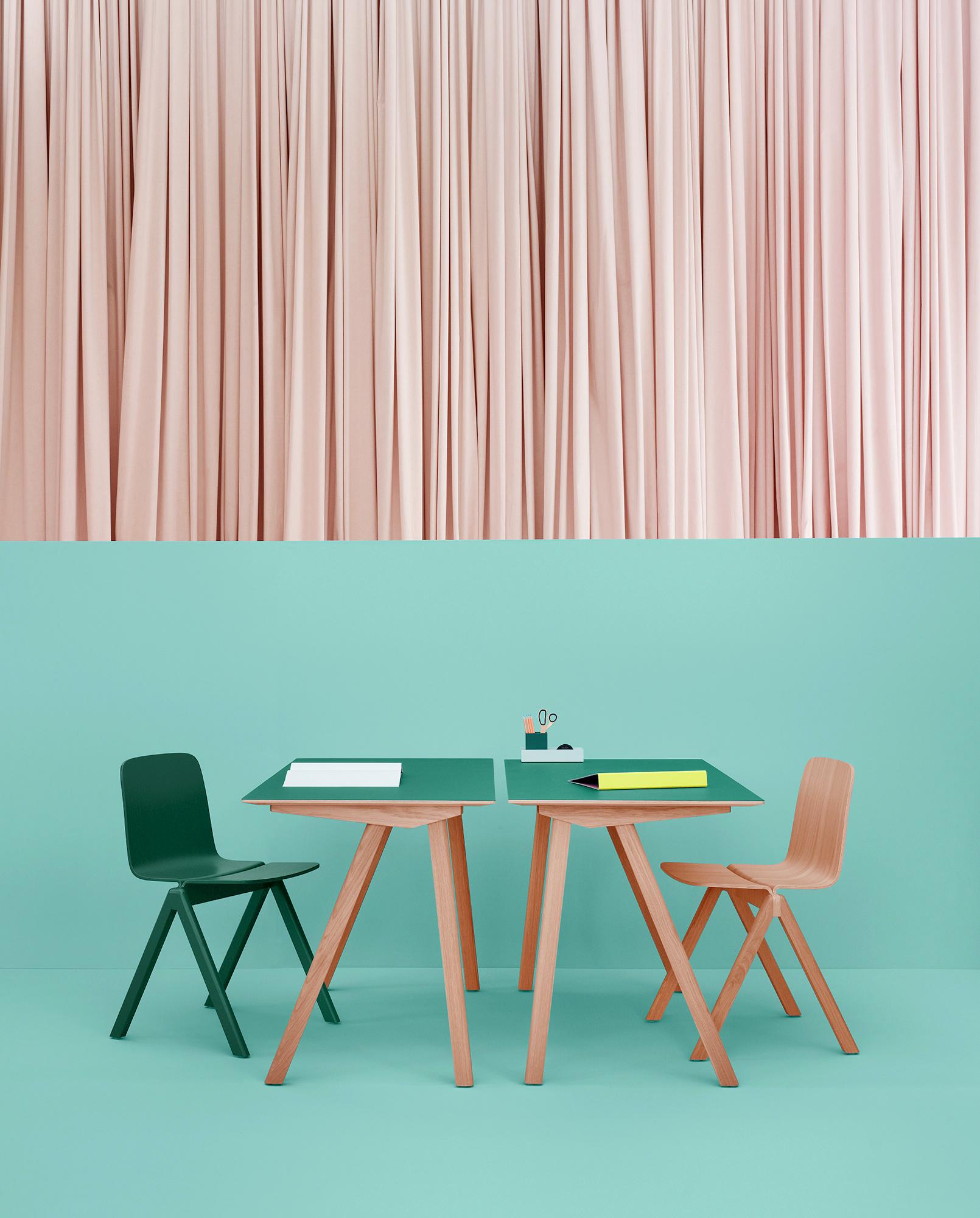 escritorio verde hay muebles mallorca