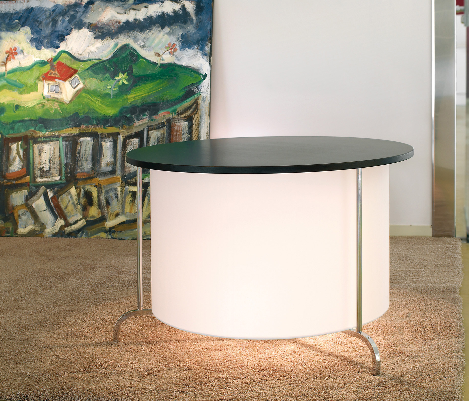 mesa lampara peana fonda europa Bover