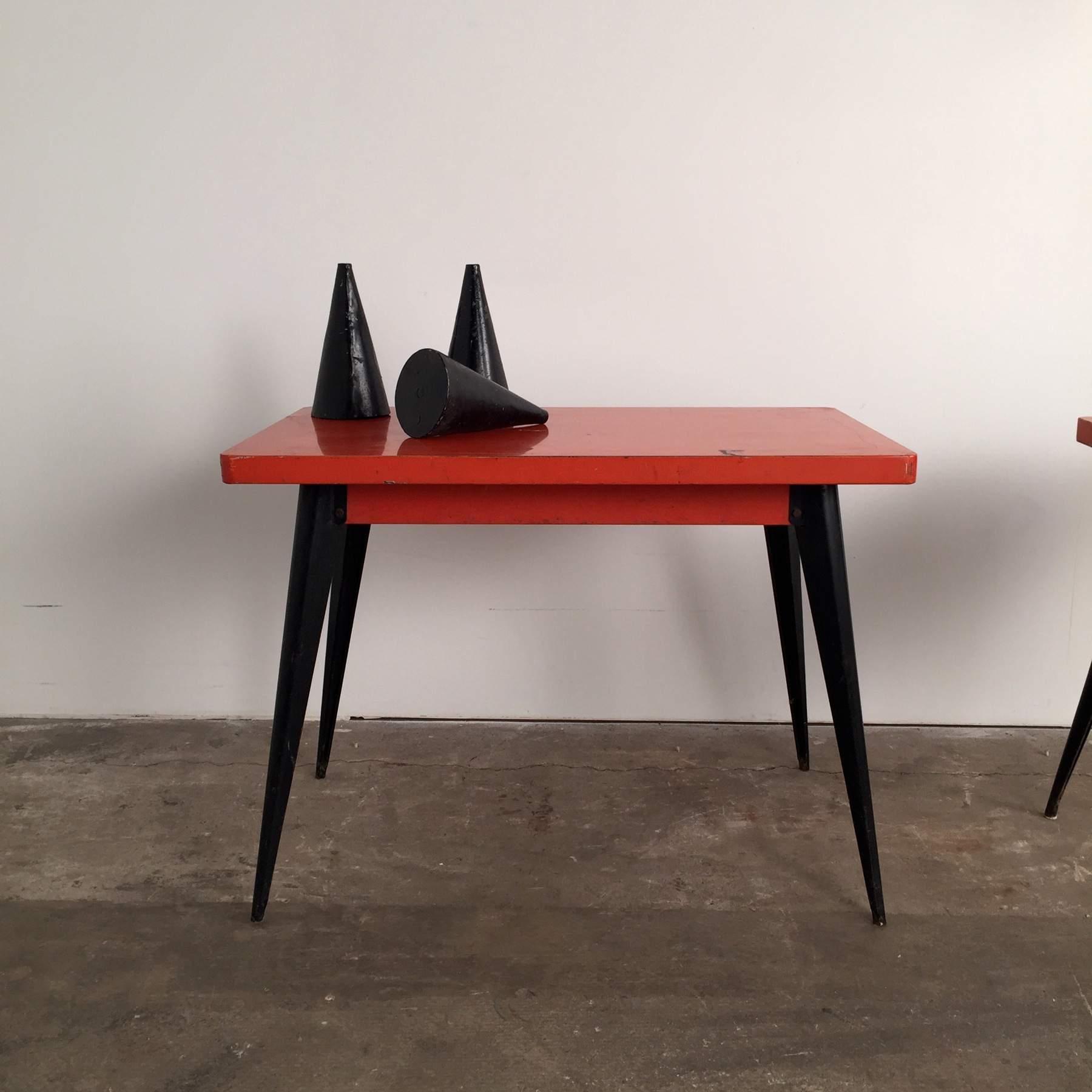 mesa vintage tolix muebles mallorca