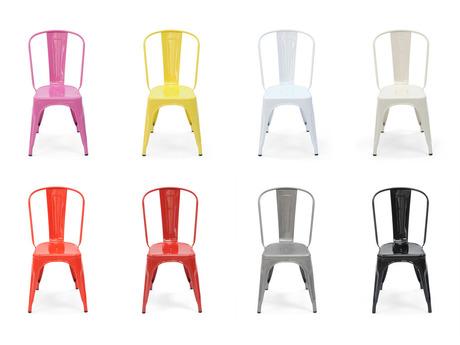 sillas colores tolix mallorca muebles