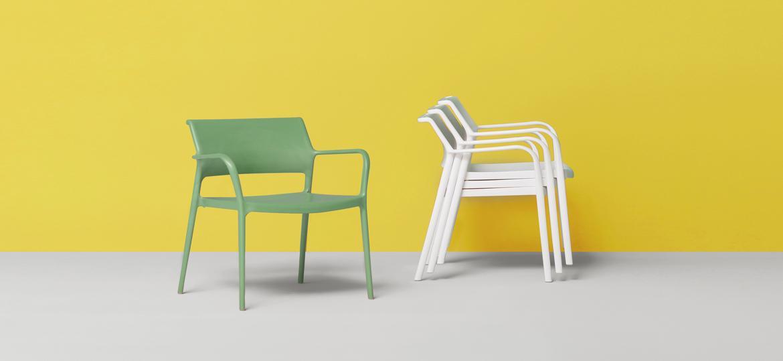 sillas exteriores ara lounge pedrali mallorca