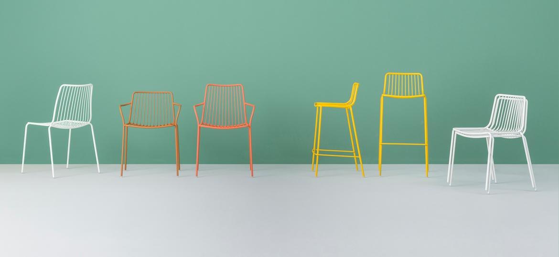 sillas nolita colores muebles pedrali mallorca