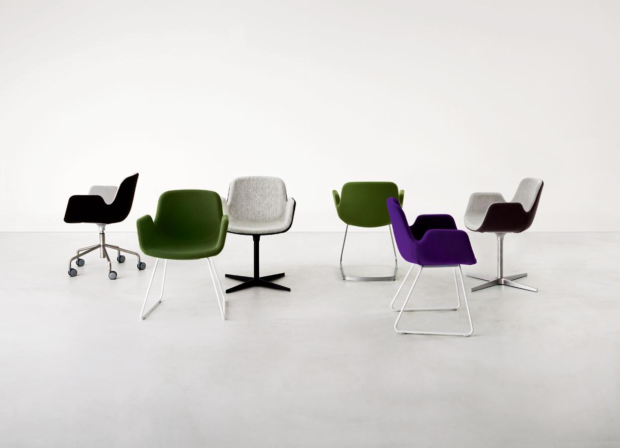 sillas oficina colores lapalma muebles mallorca