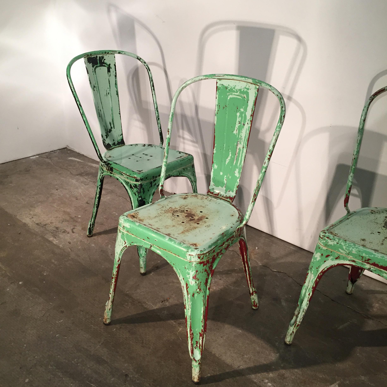 sillas vintage tolix mallorca muebles