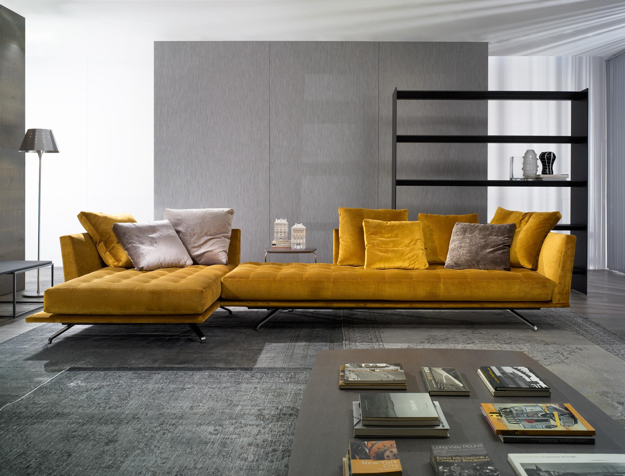 sofa amarillo casadesus muebles mallorca