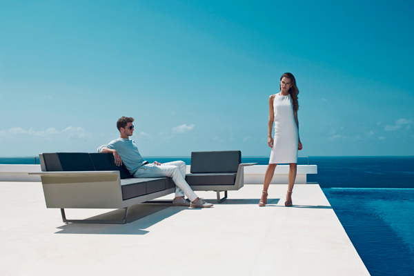 sofa flat exterior vondom mallorca