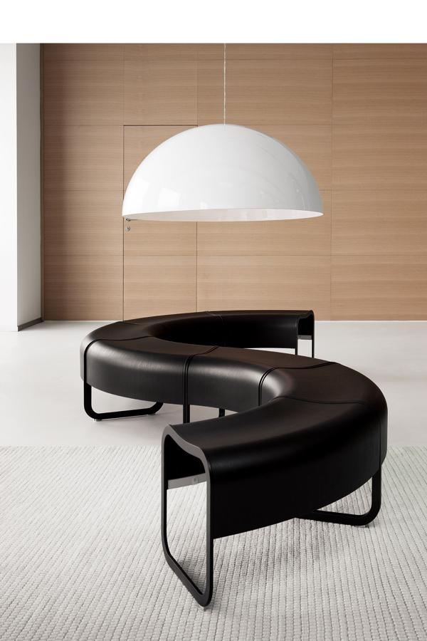 sofa negro lapalma muebles mallorca