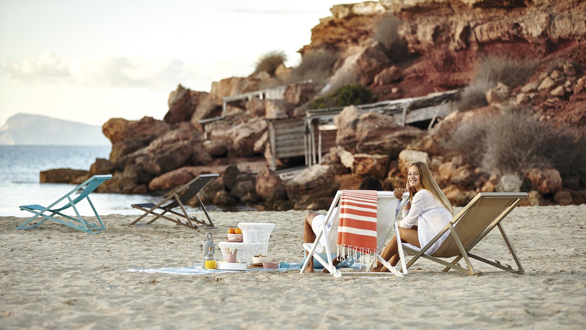 tumbonas playa gandia blasco mallorca