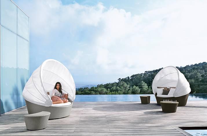 Butaca Orbit Dedon muebles exterior Mallorca