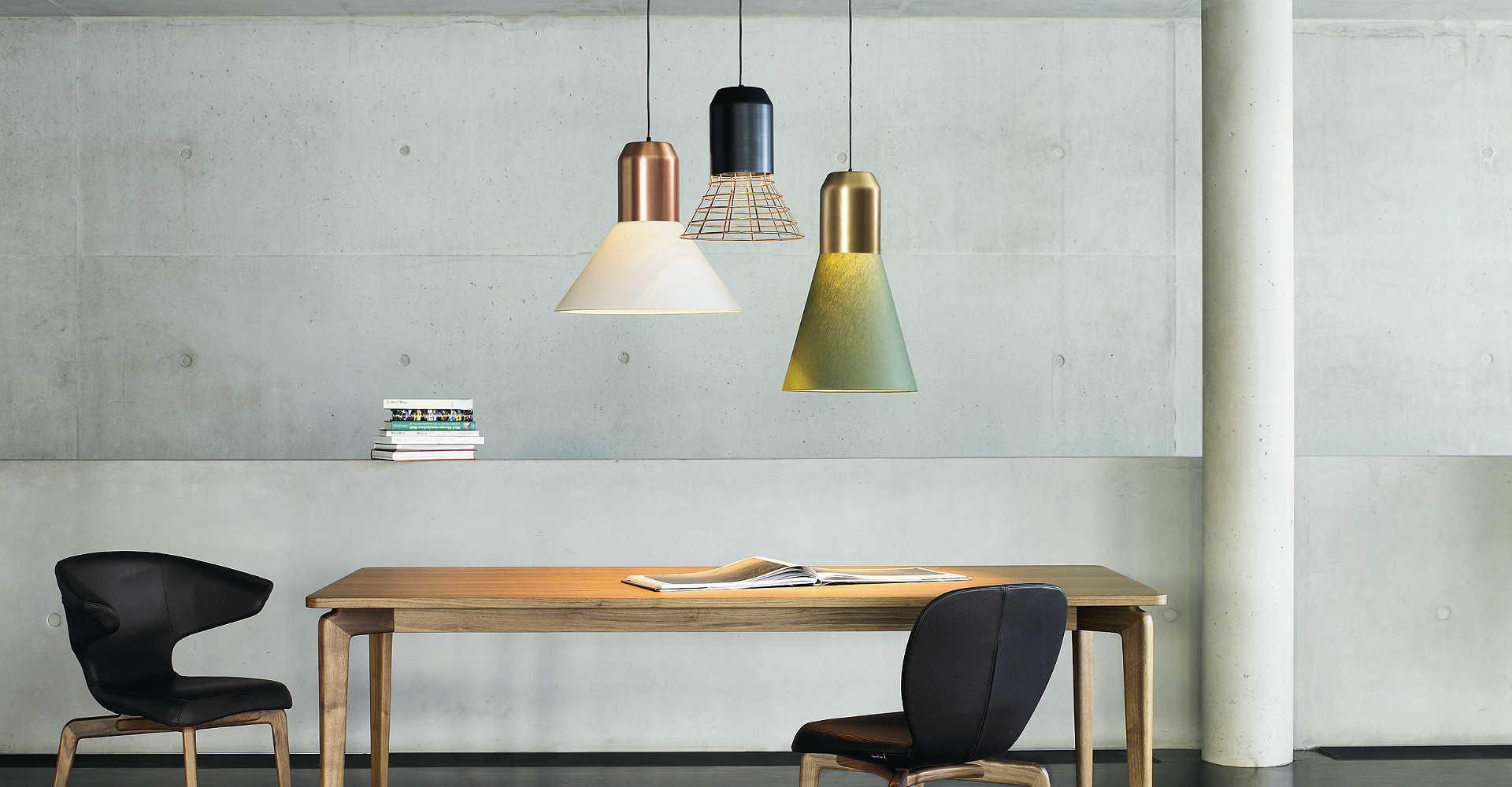 Lámpara Classicon Holzer Bell Light Mallorca
