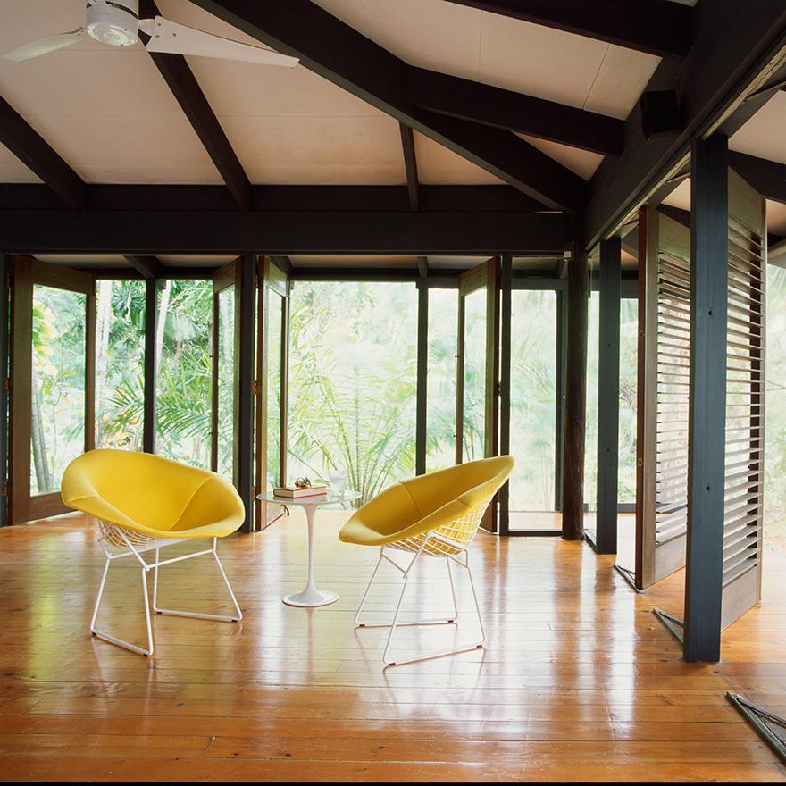 sillas amarillo knoll muebles mallorca