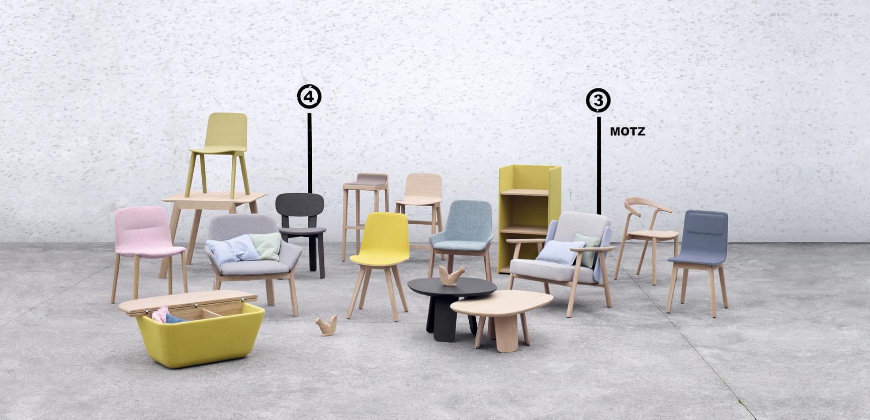 Coleccion muebles sillas Alki en Mallorca TWF
