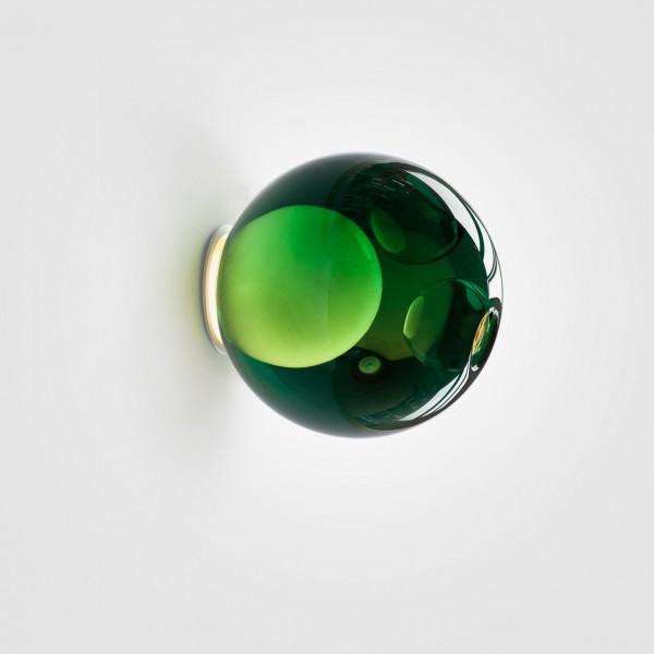 Lampara vidrio verde Bocci Mallorca