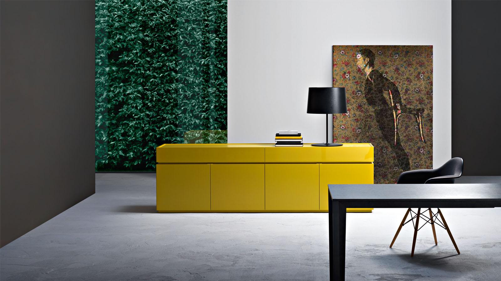aparador amarillo sangiacomo muebles mallorca