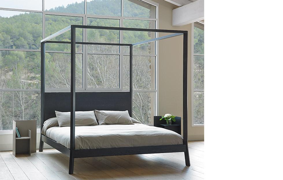 cama breda oscura muebles punt mallorca