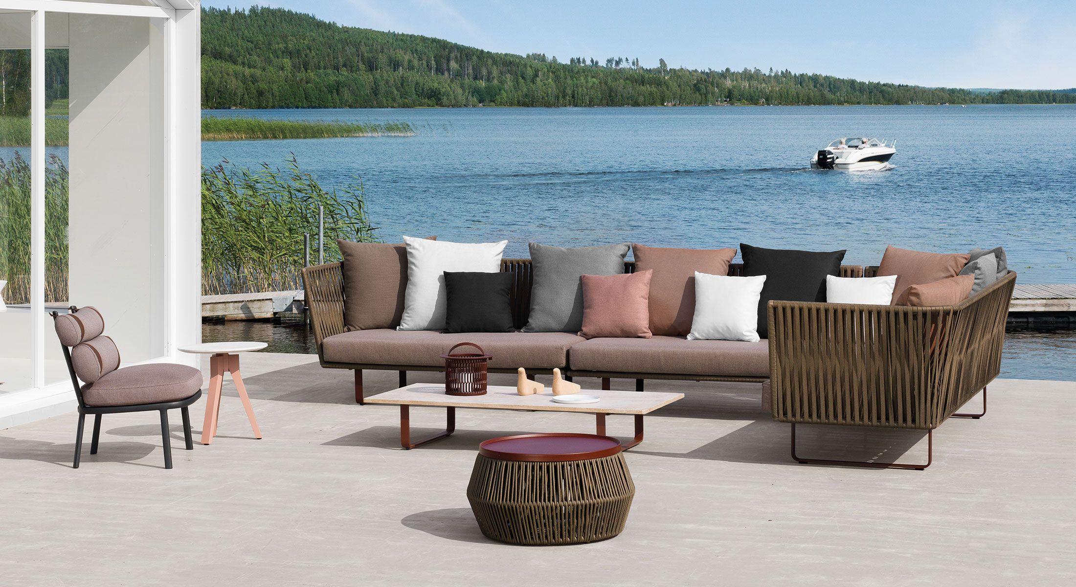 Sofa Kettal Bitta Roll Outdoor