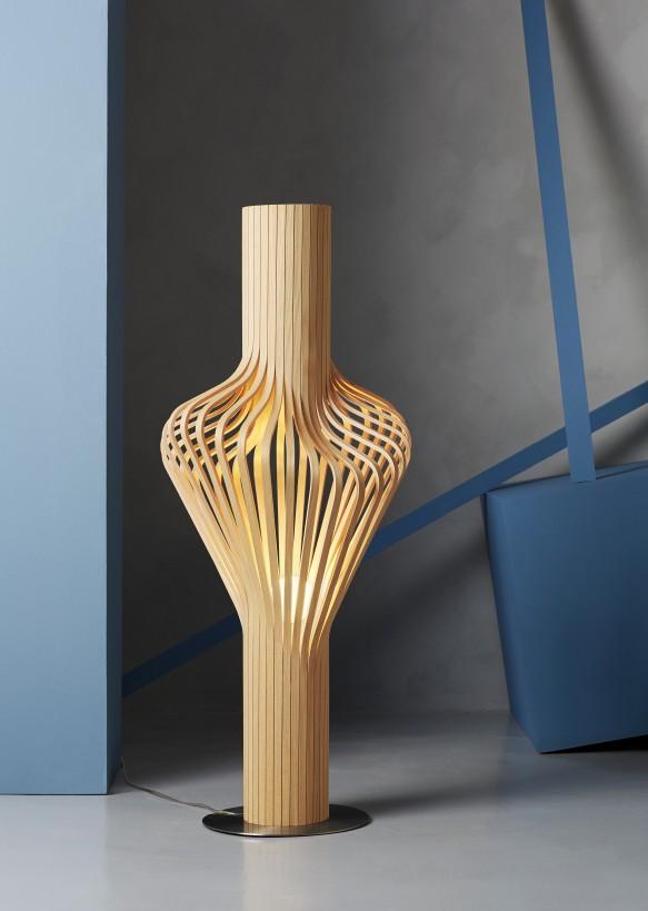 lampara madera diva northern lighting mallorca