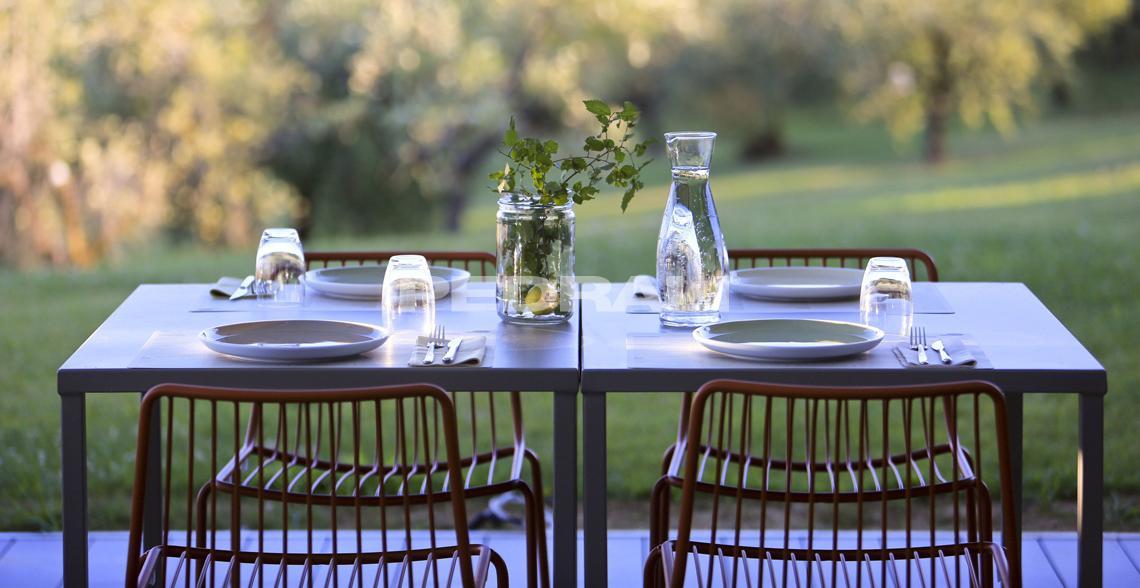 mesa comedor exterior pedrali mallorca