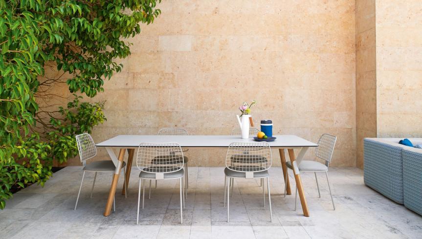 mesa exterior terraza varaschin mallorca