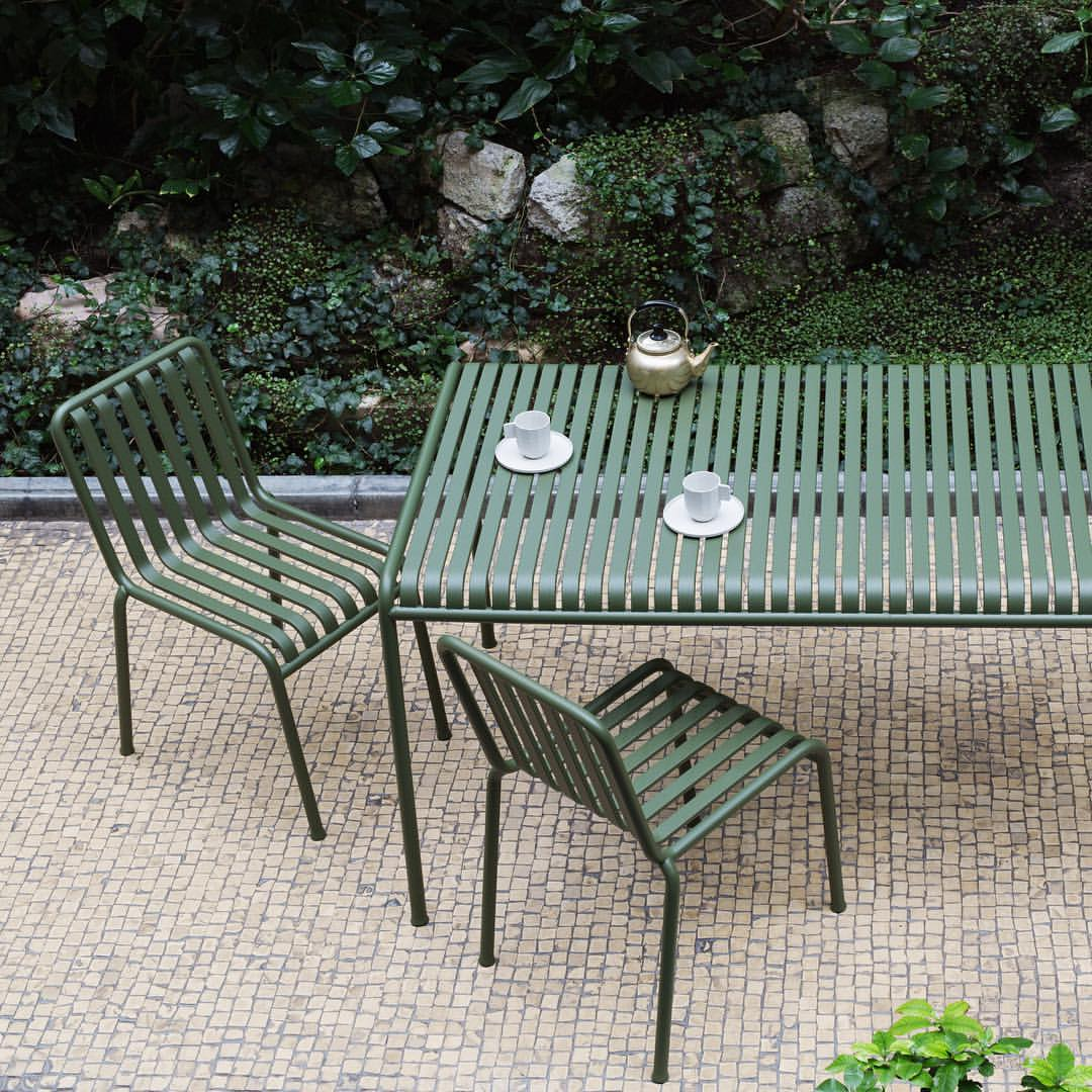 Palissade table dining chair HAY Mallorca