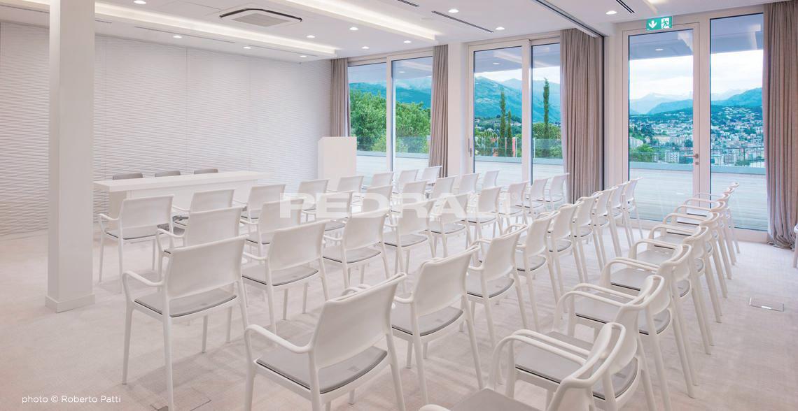 sala conferencias muebles pedrali mallorca