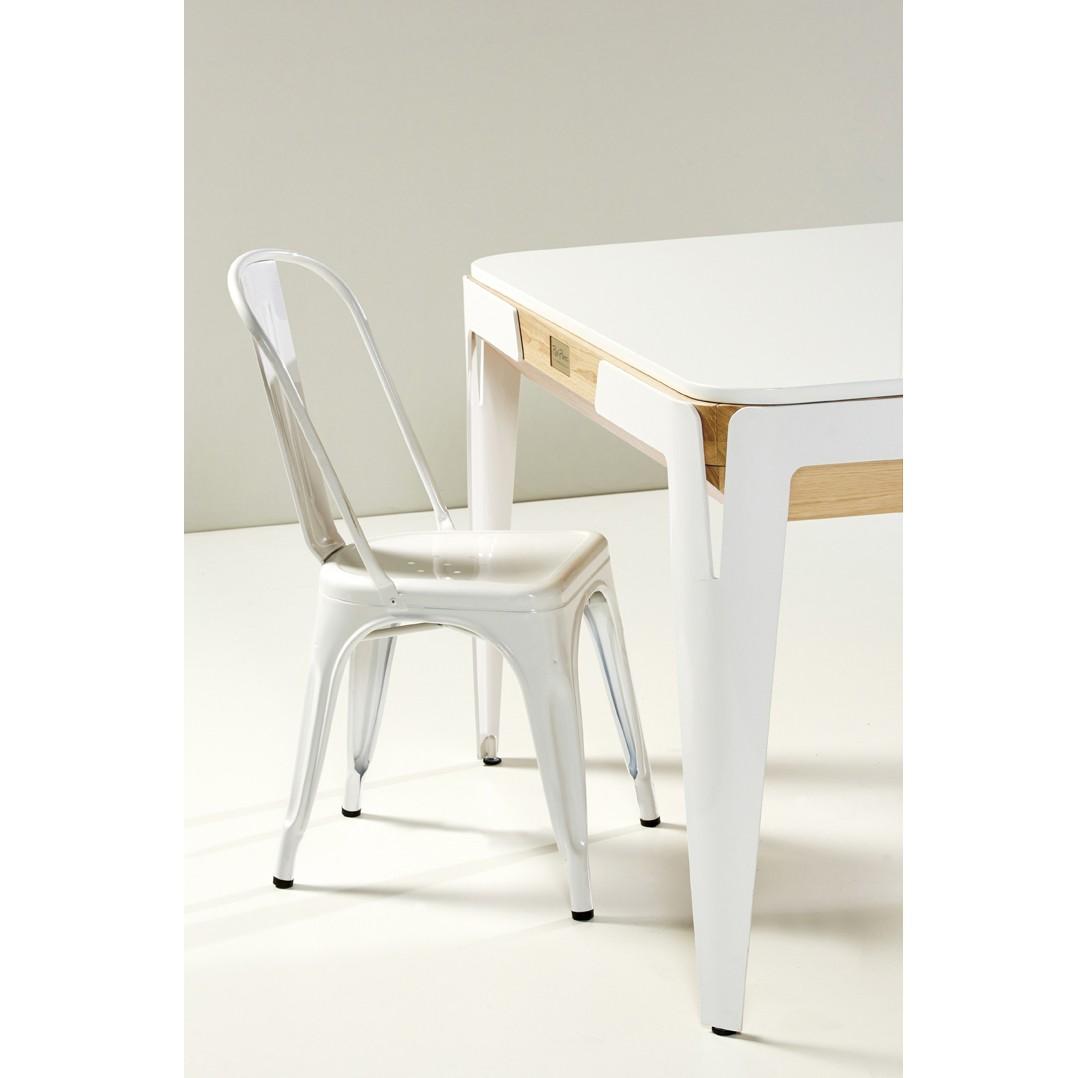 silla blanca tolix muebles mallorca