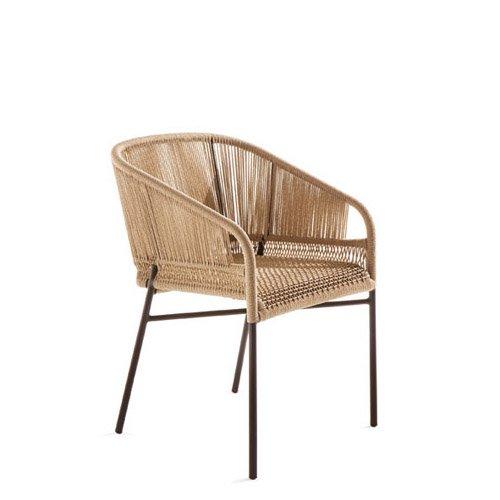silla terraza respaldo ovalado varaschin mallorca