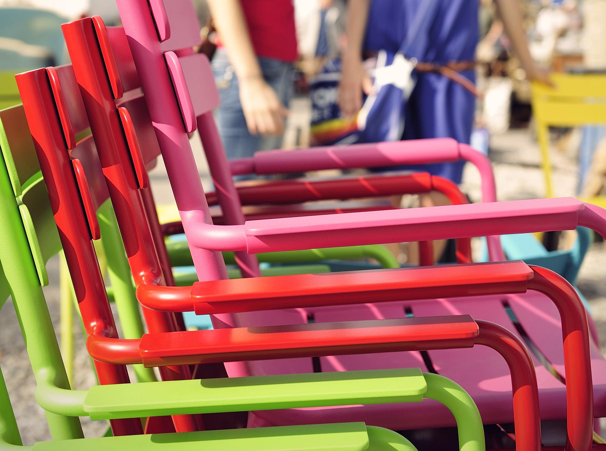 sillas colores exterior fermob muebles mallorca