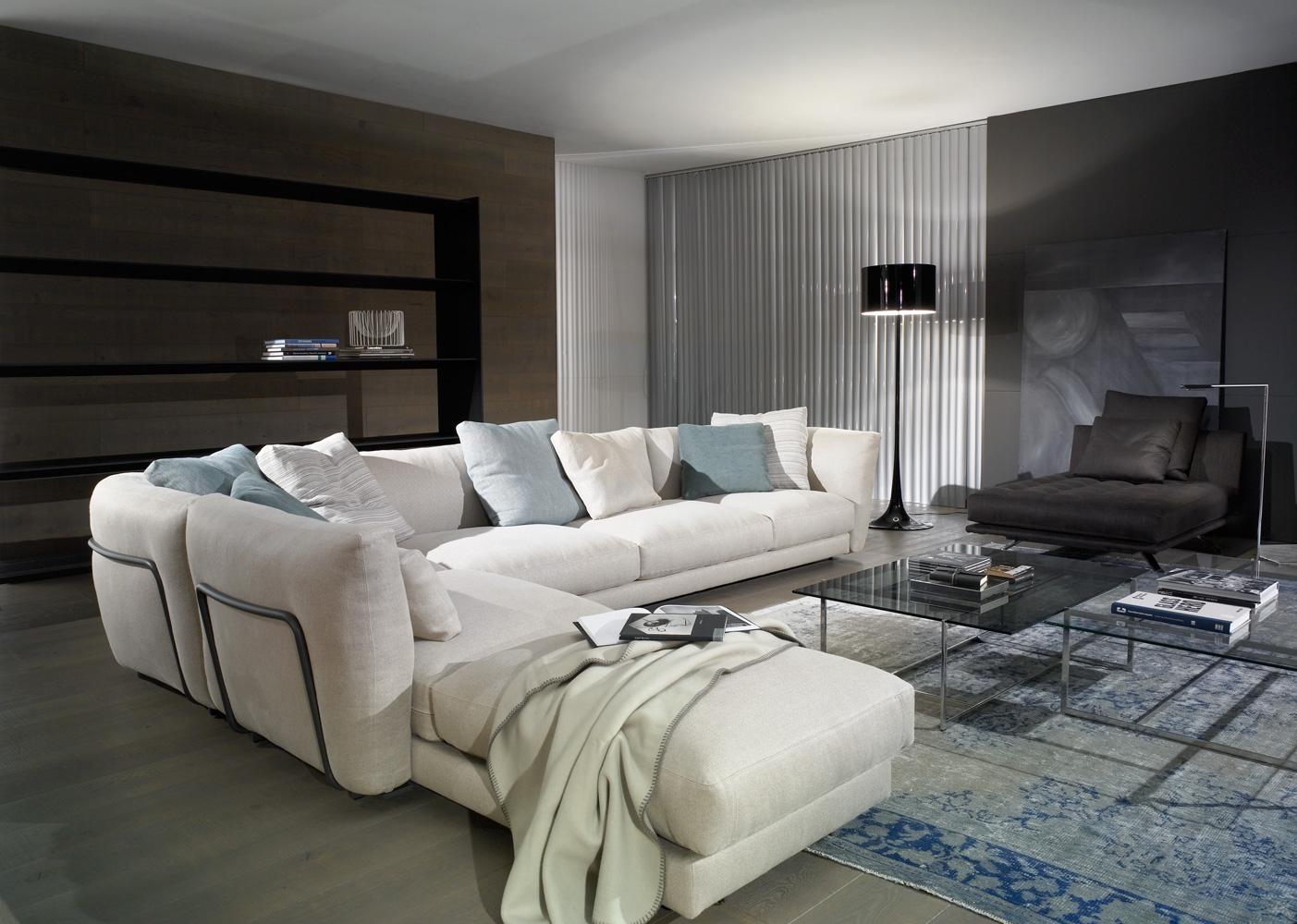 sofa casadesus blanco azul