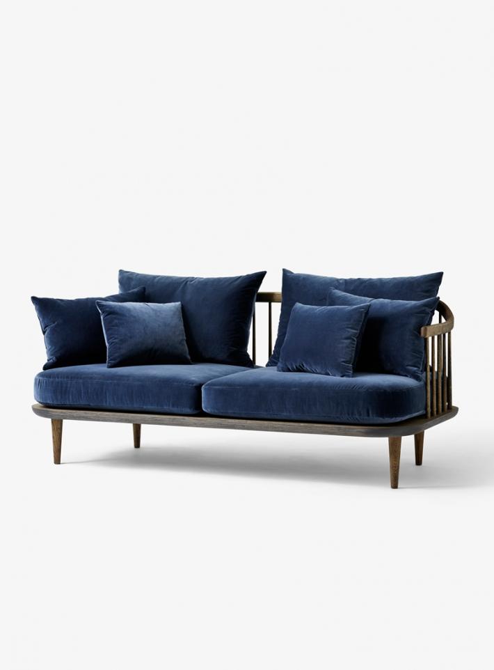 sofa fly modelo SC2 azul oscuro and tradition mallorca