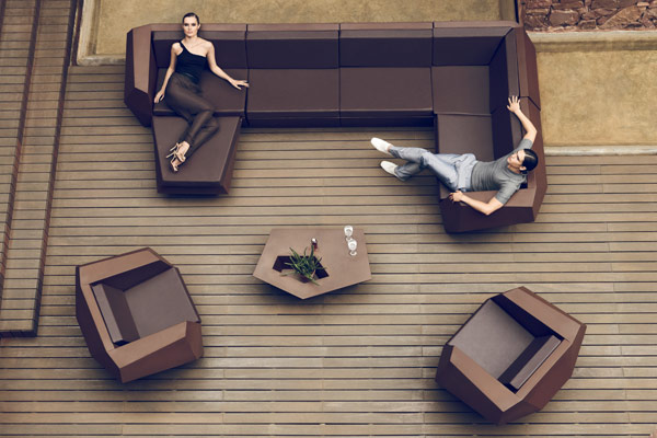 sofa modular exterior vondom mallorca
