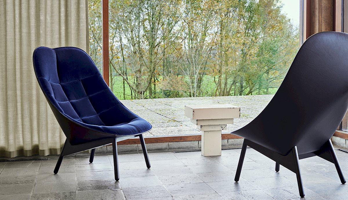 Uchiwa Lounge chair HAY Mallorca