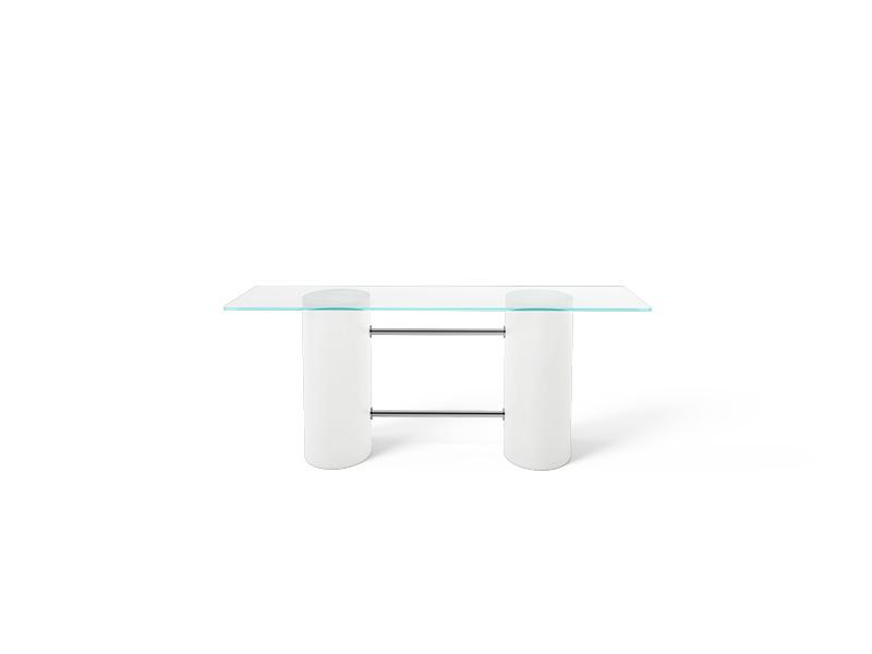 Slide escritorio cristal